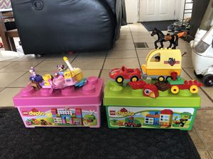 LEGO duplo's for Sale in Encino, NM