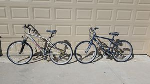 Pair GT Mountain Bikes for Sale in Wylie, TX