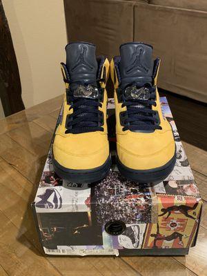 Jordan 5 Michigan Size 9 for Sale in Monroe, WA