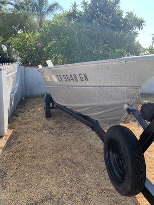Valco 14' boat trailer included for Sale in Pomona, CA