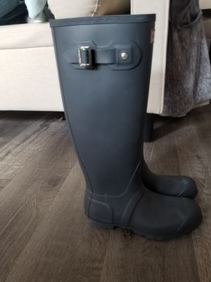 Hunter rain/snow boots for Sale in West Covina, CA