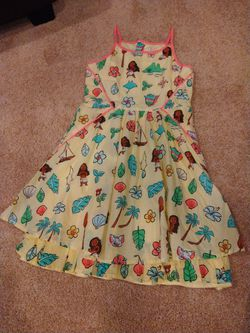 Disney Moana dress for Sale in Port Orchard,  WA