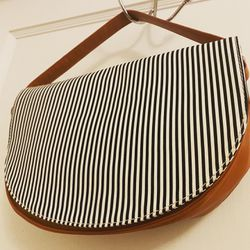 Remanika- Leather Hand Bag - Striped for Sale in Medford,  MA