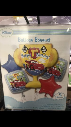 Cars 1st balloon bouquet for Sale in Waterbury, CT