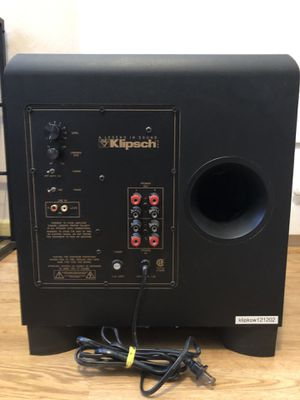 Klipsch KSW-12 Subwoofer — Used Twice for Sale in Fremont, CA