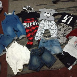 Baby Boy Clothes 12m 15 Pieces for Sale in Duarte, CA