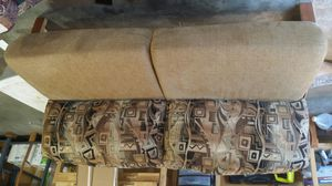 Rv jack knife couch/one dinette seat/valance and blinds for Sale in Puyallup, WA
