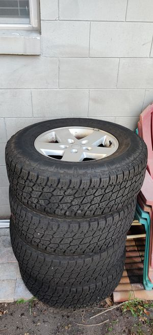 Jeep Wrangler JK Wheels and tires for Sale in Belle Isle, FL