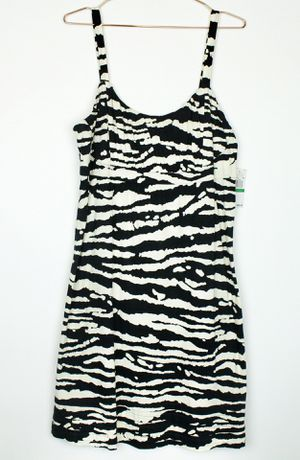 Micheal Michael Kors Zebra Print Sleeveless Midi Size Large Women's Dress - New with Tags for Sale in Phoenix, AZ