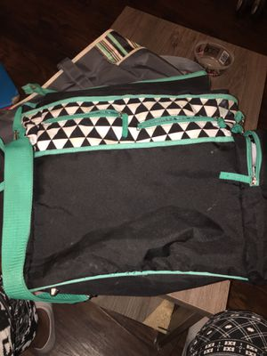 Diaper bag and little girl infant car seat and stroller for Sale in Strawberry Plains, TN