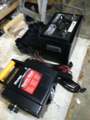Electric Winch & Battery for Sale in Longbranch, WA