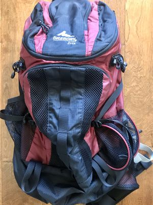 GREGORY IRIS HIKING BACKPACK 🎒 cycling gym travel snowboarding etc. for Sale in Henderson, NV