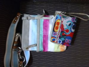 Coach colorful purse and wallet for Sale in Hoffman Estates, IL