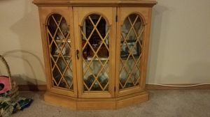 Standing curio cabinet by Butler for Sale in Portland, OR