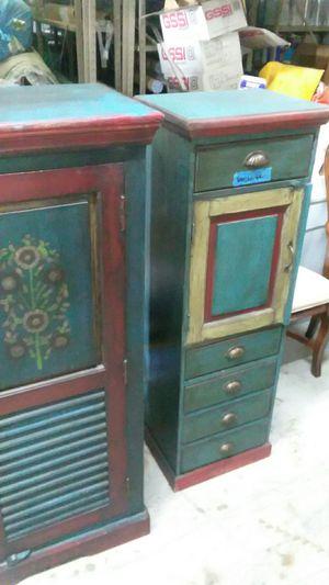 Antique Miniature Dresser w/cabinet for Sale in Tempe, AZ