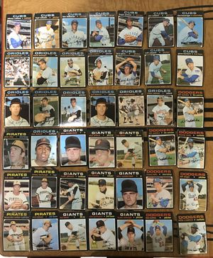 1970s Tops Baseball Card's (59 cards) Vintage for Sale in Teaneck, NJ