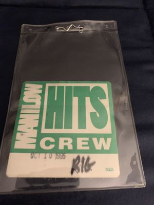 Manilow BackStage Pass for Sale in Princeville, IL