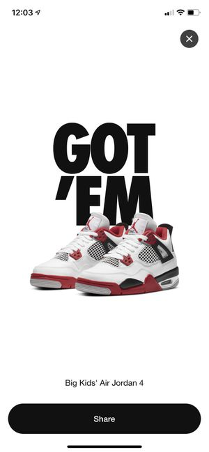 Jordan 4 Fire Red (2020) for Sale in Kissimmee, FL