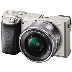 Sony Alpha a6000 Mirrorless Digital Camera with 16-50mm Lens (Silver) for Sale in Miami, FL
