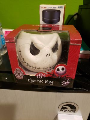 Jack Skellington ceramic mug for Sale in Davenport, FL