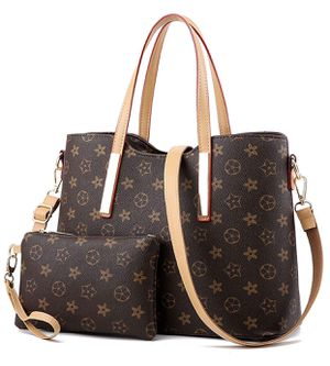 Leather Handbags Set for Women Fashion Purse Shouler Totes Bags for Sale in West Jordan, UT