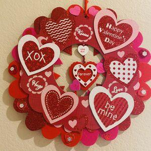 Handmade Valentines Decor Wreath for Sale in Sloan, NV