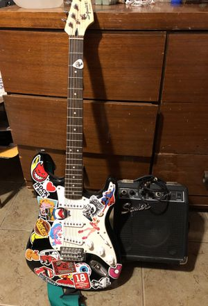 Squire strat amp bundle for Sale in Wichita, KS