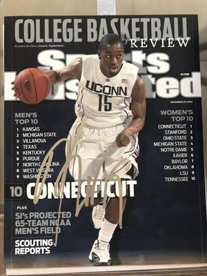 51b4680e6363 Kemba Walker UConn Huskies Charlotte Hornets NBA Basketball Signed Autograph  Signature Picture Photo 8x10 for Sale