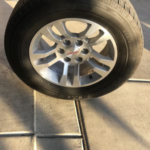 Gmc Or Chevy Rims And Tires for Sale in Sanger, CA