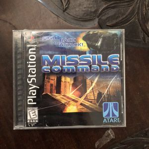 Missle Command PlayStation 1 for Sale in Pompano Beach, FL