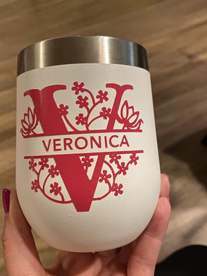 Personalized wine tumbler for Sale in Pasadena, CA