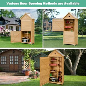 Outdoor Wooden Tool Shed Op70313 for Sale in Rosemead, CA