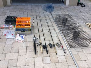 Fishing Rods, Reels, Tackle, Fishing Net, Crab Traps for Sale in PT CHARLOTTE, FL