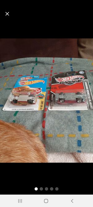 Hot Wheels Pair '69 VW-Wagon ErRoRs ●□● for Sale in Williamsport, PA
