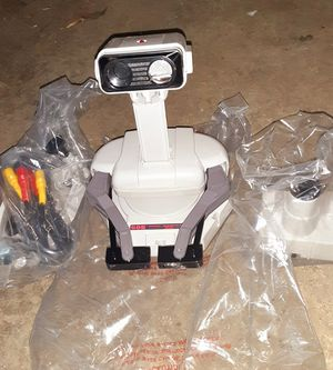 Nintendo NES Deluxe Original ROB the Robot Set w/Games &Controllers Also Extras for Sale in Concord, CA