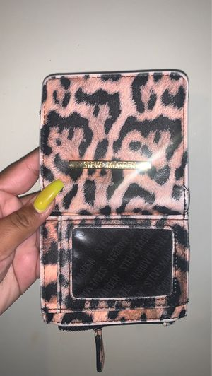 Steve Madden cheetah wallet for Sale in Highland, CA