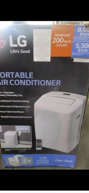 Portable air conditioner 8000 BTU for Sale in Glendale, AZ