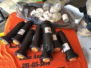 "8pc Sprinklers - Rain bird 1804-LN. 1/2"" for Sale in Houston, TX"