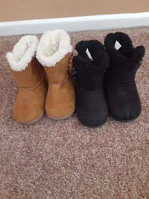 Used Garanimals Toddlers girl boots Zise #5 2×$20 O Best offer for Sale in Los Angeles, CA