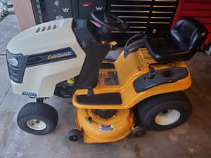 """Cub cadet 42"""" riding mower 19hp kohler garage kept no issues for Sale in Bartow, FL"""
