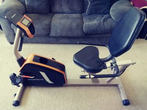 Recumbent excercise bike/ like new! for Sale in Richmond, VA