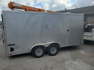 PACE AMERICAN JOURNEY TRAILER ENCLOSED for Sale in Hollywood, FL