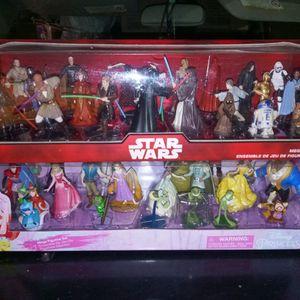 Star Wars Disney Princess Mega Figurine sets for Sale in El Cajon, CA