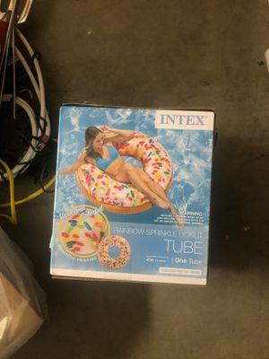Rainbow sprinkle doughnut tube for Sale in Cypress, CA