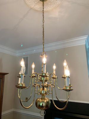 Gold Chandelier for Sale in Falls Church, VA