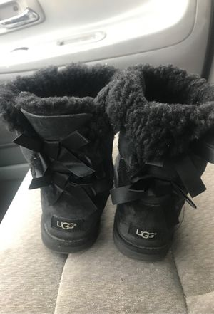Women's Black UGG Boots Size:6 REDUCED!!! for Sale in Springfield, MO