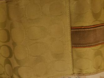 Green Coach Purse and Wallet for Sale in San Leandro,  CA
