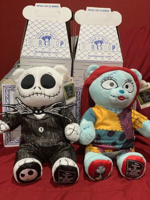 Jack and sally build a bear for Sale in Fontana, CA