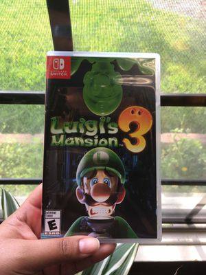 Luigi's Mansion 3 for Nintendo Switch for Sale in Downey, CA