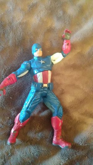 Captain America action hero figure for Sale in Fort Lauderdale, FL
